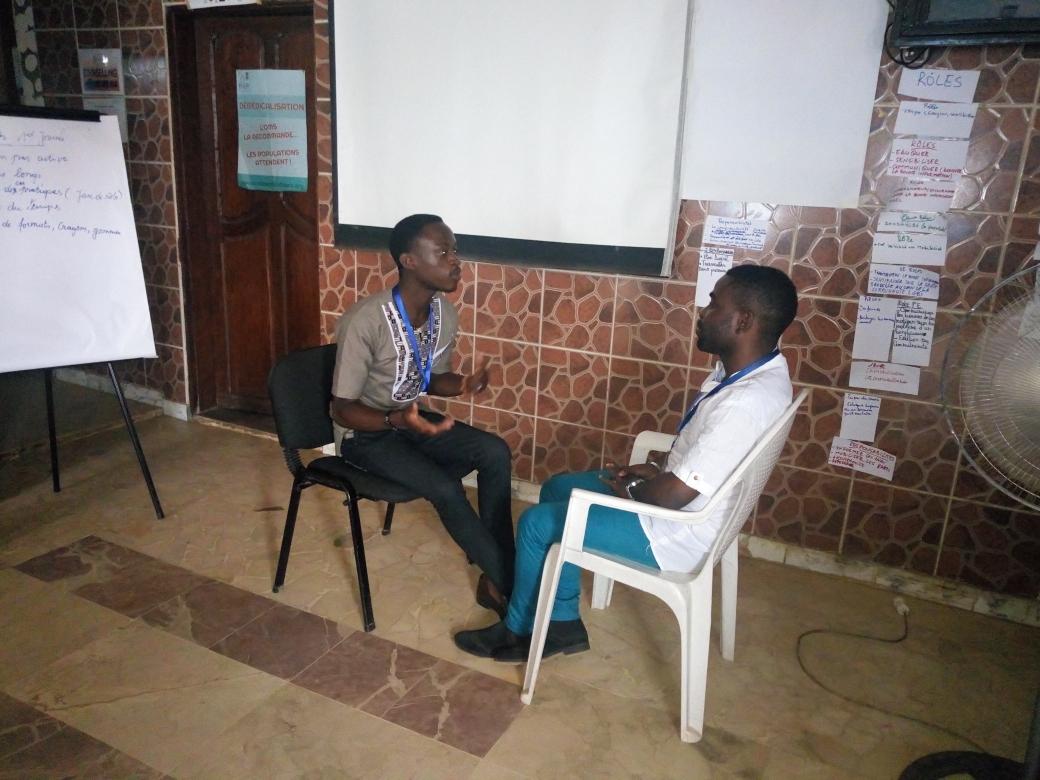 séance de counselling pre et post test